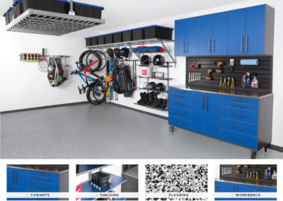 Garage Organization | Blue Design