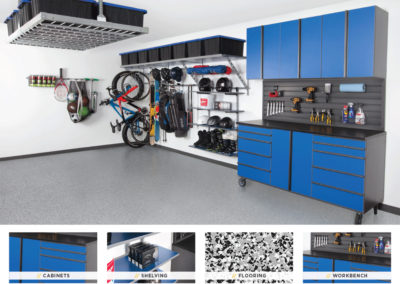 Garage Organization | Blue Design 2