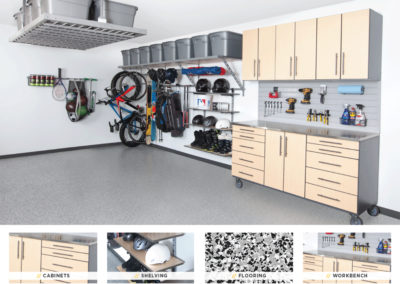 Garage Organization | Tan Stainless Design