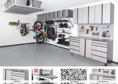 Garage Organization | Inspired Spaces | Gray Design