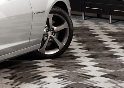 Inspired Spaces | Garage Floor Tiles | Garage Flooring