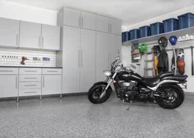 Garage Solutions | Garage Cabinets | Stainless Steel Gray