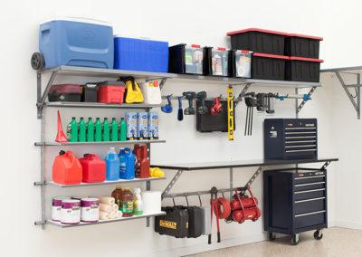 Garage Solutions | Garage Shelving | Mixed Use